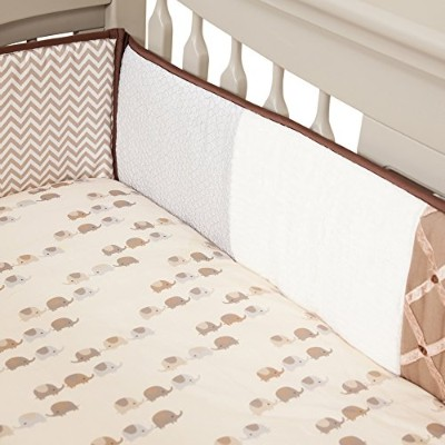 Lambs & Ivy Oatmeal Cookie Bumper by Lambs & Ivy