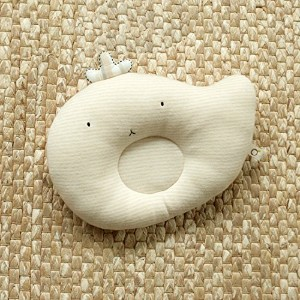 [Organic Shop] [Organic Shop] 100% Organic Cotton Baby Protective Pillow Sleeping Pillow (Chick...