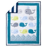 Circo 4pc Crib Bedding Set - Whales 'n Waves by Circo