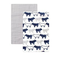 Yoga Sprout 2 Piece Muslin Swaddle Blankets, Bear Collection by Yoga Sprout