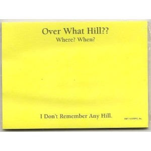 Post - itブランドノート – Over What Hill ?
