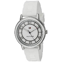 Tommy Hilfiger Women 's Quartzステンレススチールand SiliconeカジュアルWatch , Color : White ( Model : 1781667 )