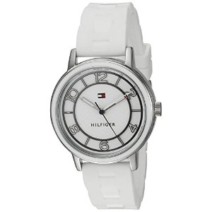 Tommy Hilfiger Women 's Quartzステンレススチールand SiliconeカジュアルWatch , Color : White ( Model : 1781667)