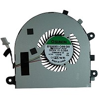 zhan fan® New CPU&GPU Cooling Fan For Dell Inspiron 15-7547 15-7548, P/N: D2T4F, 0D2T4F, 1 pair