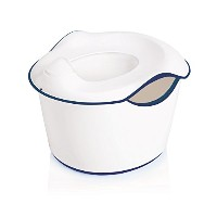 Ubbi 3-in-1 Potty or Toilet Trainer and Step Stool, Navy by Ubbi