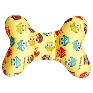 Sweet Layette Baby Head and Neck Support Pillow (Yellow) by Sweet Layette