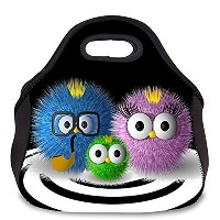 Schoolsupplies New Flexural tensile mouth Insulated Neoprene Lunch Bag Tote Handbag Lunchbox Food...