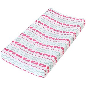 aden by aden + anais Changing Pad Cover, Light Hearted by aden + anais