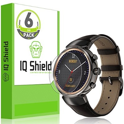 Asus ZenWatch 3用 Screen Protector (6-Pack), IQ Shield 【並行輸入品】