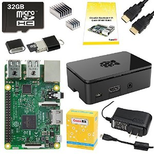 CanaKit Raspberry Pi 3 Complete Starter Kit - 32 GB Edition [並行輸入品]