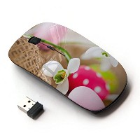 KOOLmouse [ ワイヤレスマウス 2.4Ghz無線光学式マウス ] [ Egg Snow Flower Spring Nature ]