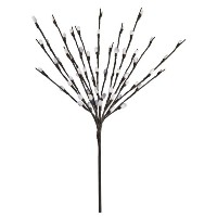 hi-lineギフトltdfloral Lights Lighted Pussy Willow Branch with 60電球、20インチ