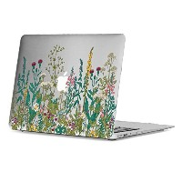 GMYLE Garden Flower Soft-Touch Frosted Hard Case for Macbook Air 13 inch (A1369/A1466)專用 ハードケースカバー