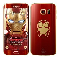 【日本未発売】Samsung Galaxy S6 Edge Iron Man Limited Editionn G9250S 64GB KR版 シムフリー(アイアンマン 限定版) SIM-FREE ...