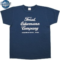 BUZZ RICKSON'S /バズリクソンズ S/S CONTRACTOR T-SHIRT FRIED, OSTERMANN CO. 半袖プリントTシャツ NAVY(ネイビー)/BR76573