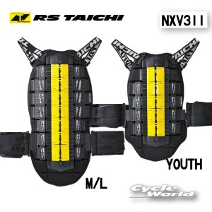 ☆【RS TAICHI】NXV311 《YOUTH/LADY》CE FLEX BACK PROTECTOR  CE フレックスバックプロテクター  アールエスタイチ RSタイチ 背中 脊髄 ...