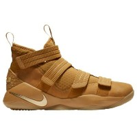(取寄)Nike ナイキ メンズ レブロン ソルジャー 11 SFG Nike Men's LeBron Soldier 11 SFG Wheat Gold Metallic Gold