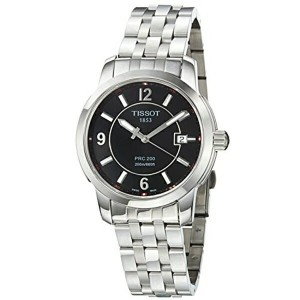 ティソ Tissot 腕時計 メンズ 時計 Tissot Men's T0144101105700 PRC 200 Black Dial Watch