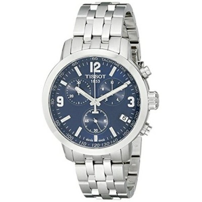 ティソ Tissot 腕時計 メンズ 時計 Tissot Men's T0554171104700 PRC200 Stainless Steel Watch