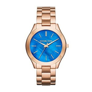 マイケルコース Michael Kors レディース 腕時計 時計 Michael Kors MK3494 Ladies Slim Runway Rose Gold Steel Bracelet...