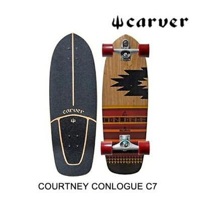 CARVER カーバー スケートボード SKATEBOARD COURTNEY CONLOGUE C7 COMPLETE MULTI 29.5""