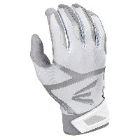 イーストン メンズ 野球 グローブ【Easton Z7 VRS Hyperskin Batting Gloves】Grey/White