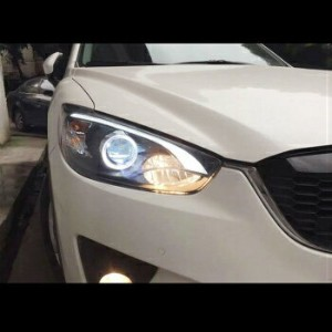 マツダ CX-5 ヘッドライト Mazda CX-5 2013~2015 LED Projector DRL Xenon HID Head lights Lamp Replacement マツダCX...