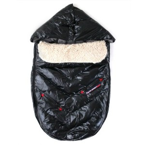7A.M. ENFANT POLAR IGLOO ベビーカーフットマフ Black 18M-3T