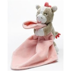 Carter's Snuggle Buddy Security Blanket Plush Pony Baby Toy by Carter's