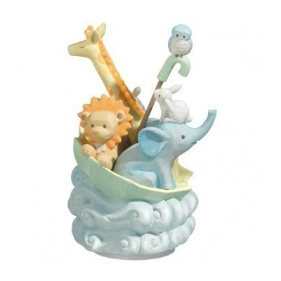 Animal Musical Rotating Figurine by Grasslands Road