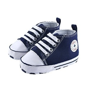Itaar Prewalker Infant Sweet Canvas Sneaker Anti-skid Soft Shoes Trainer 3-18 Months by Itaar