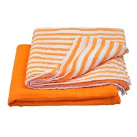 green sprouts Muslin Swaddle Blankets made from Organic Cotton,Orange Set by green sprouts