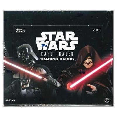 2016 TOPPS STAR WARS CARD TRADER BOX