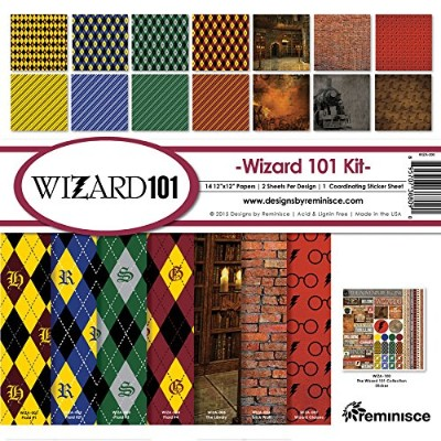 Reminisce WIZA-200 Wizard Collection Kit, 12 by 12, Multicolor by Reminisce