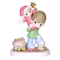 Precious Moments Company Father and Son with Star Figurine [並行輸入品]