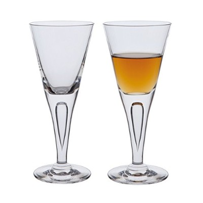 Dartington Crystal SHARON - SHERRY PAIR 80ml, 16cm tall