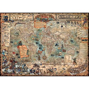 HEYE Puzzle・ヘイパズル 29526 Rajko Zigic : Pirate World 3000ピース
