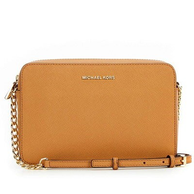 マイケル マイケルコース クロスボディ Michael Michael Kors 32S4GTVC3LJet Set Large Saffiano Leather Crossbody (ACORN)...