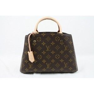 LOUIS VUITTON ルイ ヴィトン モンテーニュBB M410552WAYバッグ モノグラム小さめ コンパクト 特上品【中古】