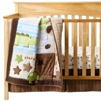 Circo Neutral 3pc Chomps Crib Set by Circo
