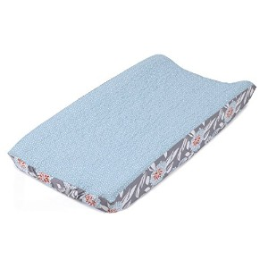 Balboa Baby Quilted Changing Pad Cover, Aqua/White Dot by Balboa Baby