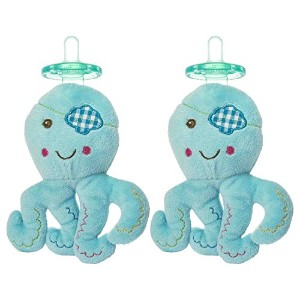 Mary Meyer Wubbanub Pacifier Baby Buccaneer - 2 Count by Mary Meyer