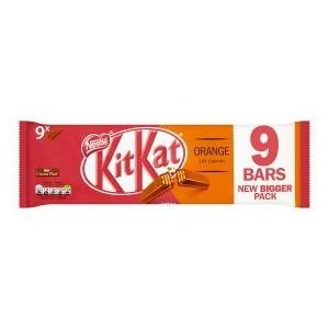 NESTLE KIT KAT 2 FINGER PK8 ORANGE