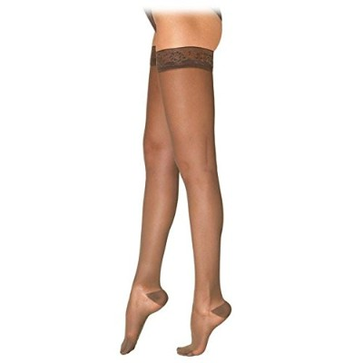 Sigvaris Ever Sheer Thigh High 20-30mmHg Women's Closed Toe, S1, Black - 782NSLW99 by Sigvaris