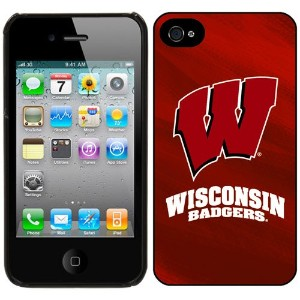 NCAA Wisconsin Badgers iPhone 4 / 4sケース
