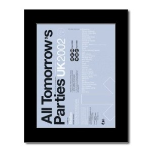 ALL TOMORROWS PARTIES - 2002 - UK Mini Poster - 28.5x21cm