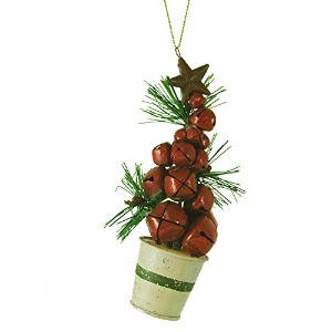 Red Jingle BellクリスマスツリーHanging Ornament