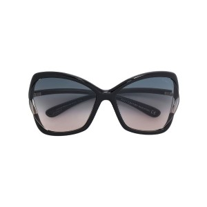 Tom Ford Eyewear - Astrid 02 サングラス - women - アセテート - 61