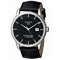 ティソ Tissot 腕時計 メンズ 時計 Tissot Men's T0864081605100 Luxury Analog Display Swiss Automatic Black Watch