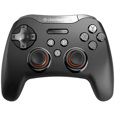 SteelSeries Bluetooth接続 ワイヤレスゲーミングパット(ブラック)Stratus XL Wireless Gaming Controller 69050